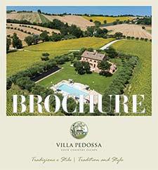 Brochure Villa Pedossa